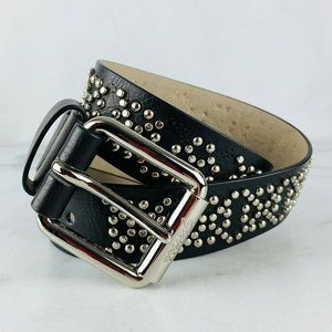 Guess Belt Vegan Leather Studded
